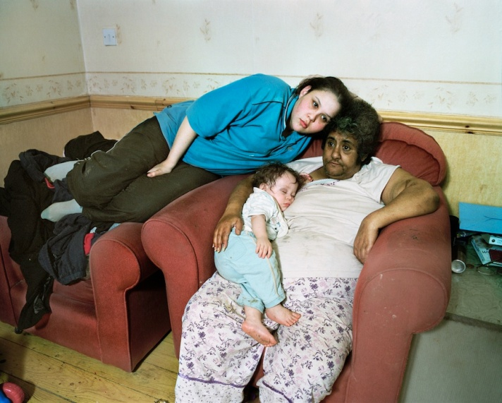 Kayleigh with her grandmother and son, 2007, Sirkka-Liisa Konttinen, Byker Revisited / Today I'm With You (Amber Films, 2010)