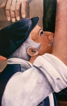 1985 Appletongate Mural (detail)