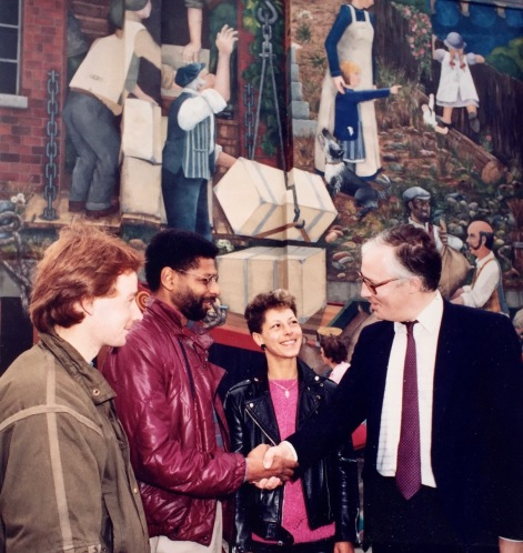 October 1985 - Opening with Anthony Everitt, Deputy Secretary General of ACGB