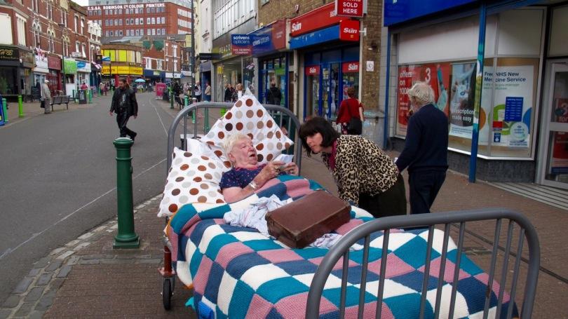 Rosie Wheatland, in 'Bed', Entelechy Arts, Bristol, 2016