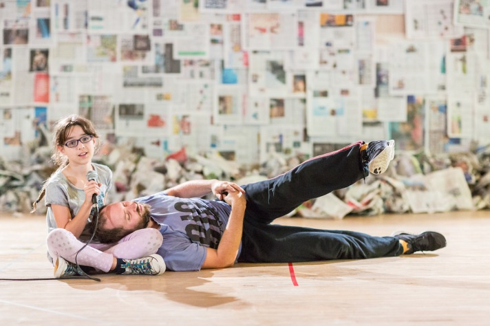 'Men & Girls Dance' - Fevered Sleep (Photo Benedict Johnson)