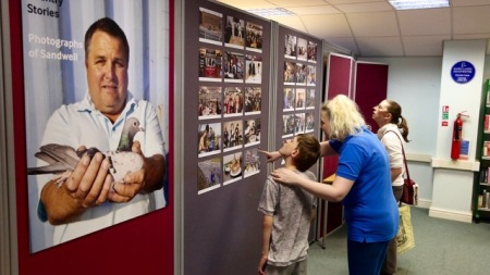 Multistory Exhibition at Tipton Library - 'Black Country Stories' by Martin Parr (Photo © Becky Jones)