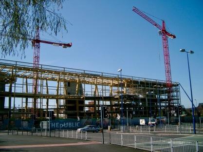 The Public under construction