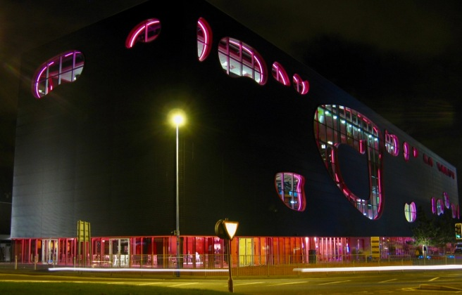 The Public at night