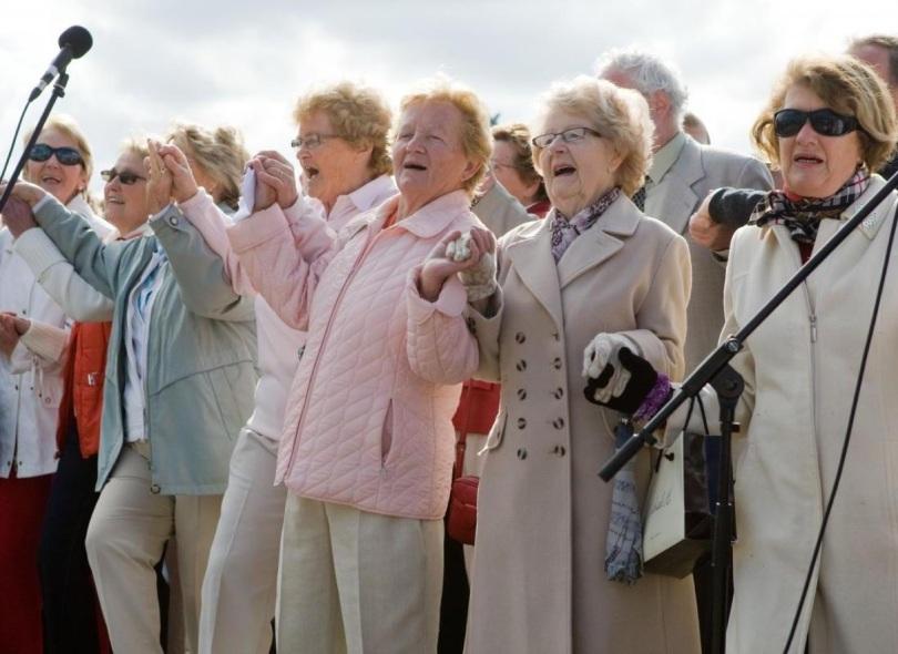 Dawn Chorus at the Bealtaine Festival (Ireland)