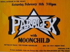 Hawtonville Poster, Paralex (1983)