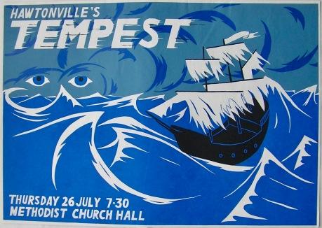 Hawtonville Poster, Tempest (1984)