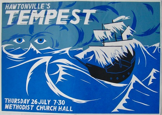 Hawtonville Poster, Tempest (1984)