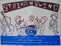 Hawtonville Poster, Strings 'n' Swing (1983)