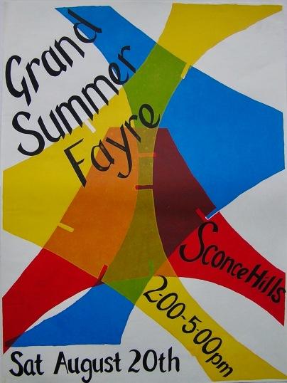 Hawtonville Poster, Grand Summer Fayre (1983)