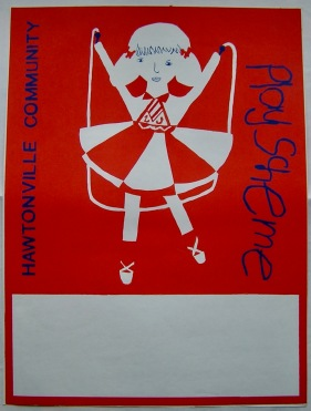 Hawtonville Poster, Community Playscheme (1983)