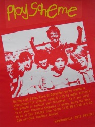 Hawtonville Poster, Playscheme (1983)