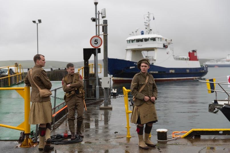 'we're here because we're here' in Shetland © Paul