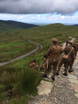 'we're here because we're here' in Snowdon