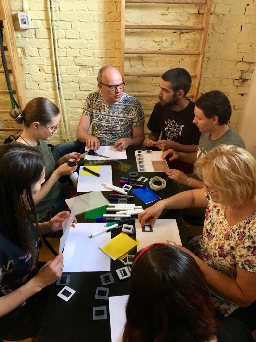 Day 1, slide workshop