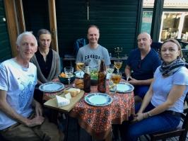 Ed, Vita, Gediminas, Ramunas & Tatiana