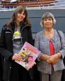 Emma Purshouse and Margaret Drabble