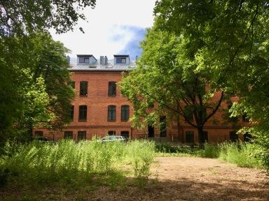 Former barracks, private housing