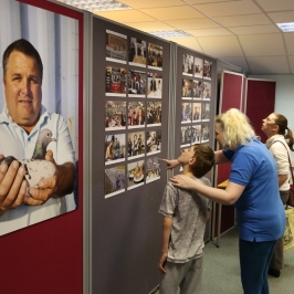 Martin Parr Exhibition, Tipton Library