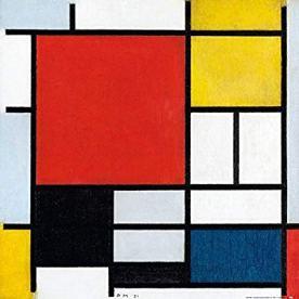Piet Mondriaan, 1921 Composition en rouge, jaune, bleu et noir