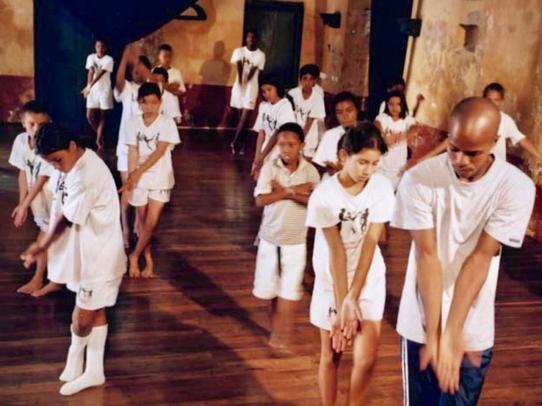 El Colegio del Cuerpo, Cartagena de Indias, in 2001 (Photo François Matarasso)