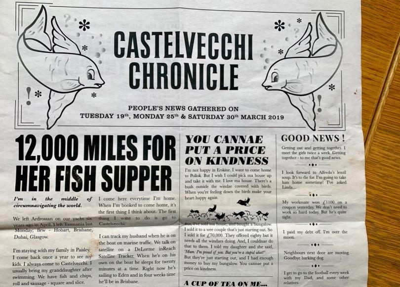 Castelvecchi Chronicle – A Restless Art